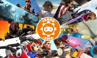 Games | Os lançamentos mais aguardados de junho 2018