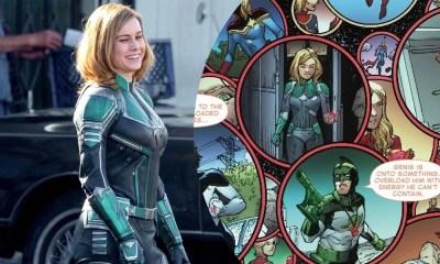 Capitã Marvel | Uniforme verde usado por Brie Larson aparecerá nos quadrinhos