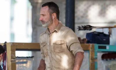 The Walking Dead   Imagens da 9ª temporada mostram novo visual de Rick e misteriosa arma