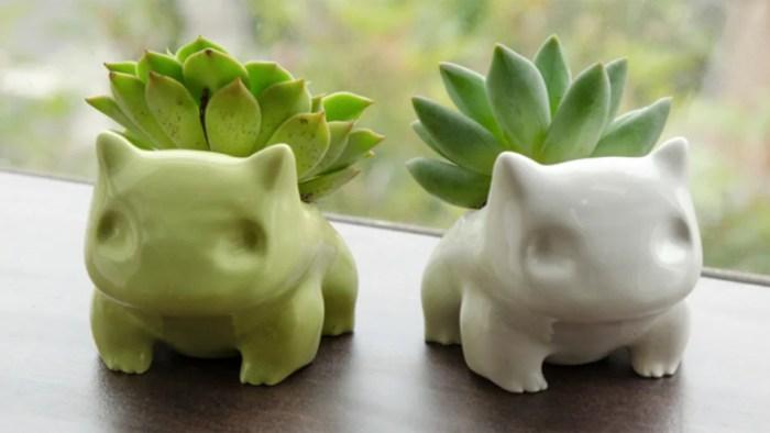 Hortinha Geek | 5 vasinhos para geeks que gostam de plantar!