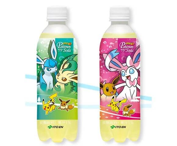 Pokémon | Novos refrigerantes com evoluções do Eevee são lançados no Japão