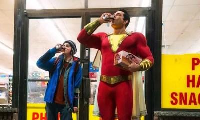 Shazam! | David Sandberg explica o traje do herói em nova imagem divulgada
