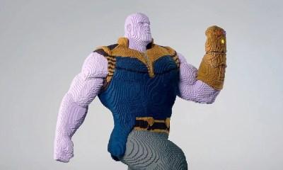 Thanos ganha uma gigantesca estátua de LEGO para promover San Diego Comic-Con. Confira!