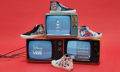 Vans lança coleção em homenagem aos 90 anos do Mickey