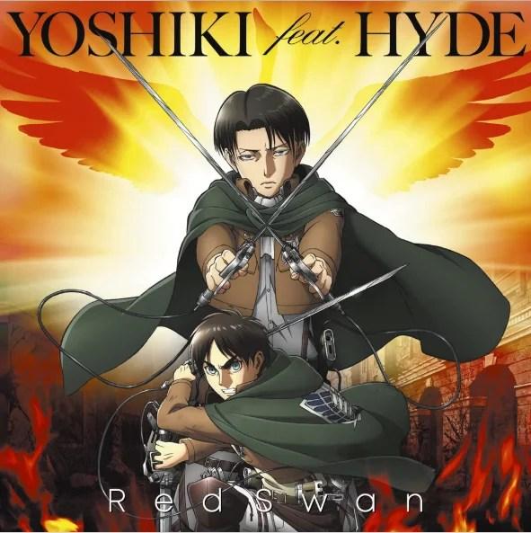 Attack on Titan   Música tema com parceria entre YOSHIKI e HYDE é sucesso mundial