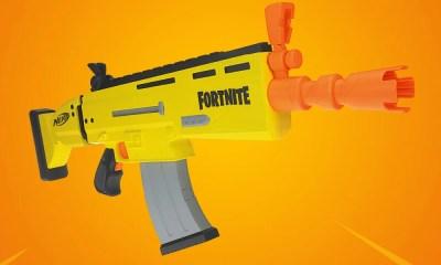 Fortnite | Nerf anuncia linha inspirada no famoso Battle Royale