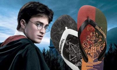Harry Potter | Havaianas lança coleção de chinelos baseada na saga
