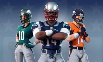 Fortnite | Epic Games anuncia novas skins de futebol americano