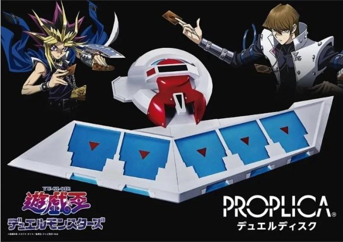 Yu-Gi-Oh!   Novo Disco de Duelo é revelado na Jump Festa 2018
