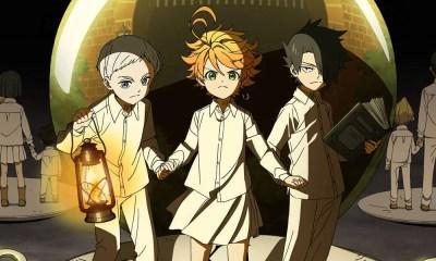 Anime The Promised Neverland ganha novo poster oficial