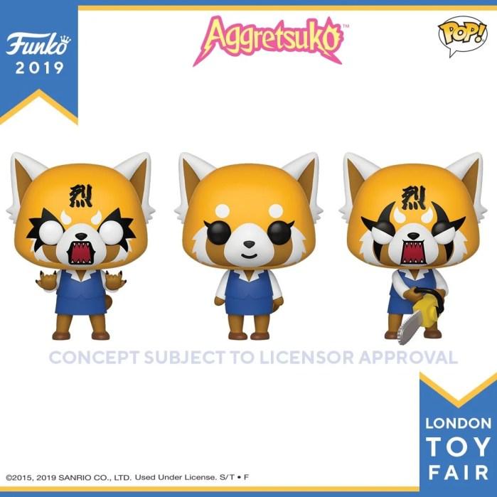 Aggretsuko   Funko lança figuras POP! inspiradas na personagem