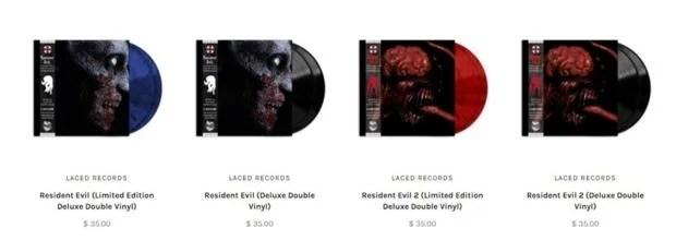 Diante do sucesso do recente lançamento Resident Evil 2 Remake, a Capcom investirá também na trilha sonora da franquia com uma coleção em vinil contendo as músicas dos títulos.
