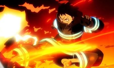 Anime de Fire Force será lançado no ocidente pela Funimation