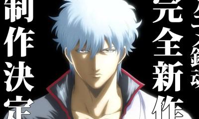 Gintama | Misterioso teaser anuncia produção de novo anime