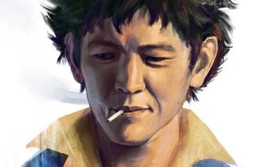 Cowboy Bebop   Fã cria ilustração de John Cho como Spike Spiegel