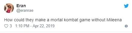 Mortal Kombat 11 | Ausência de Mileena causa revolta nos fãs da franquia