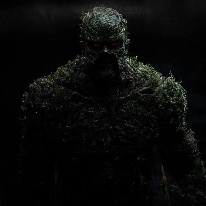 Monstro do Pântano   Nova série da DC ganha poster oficial