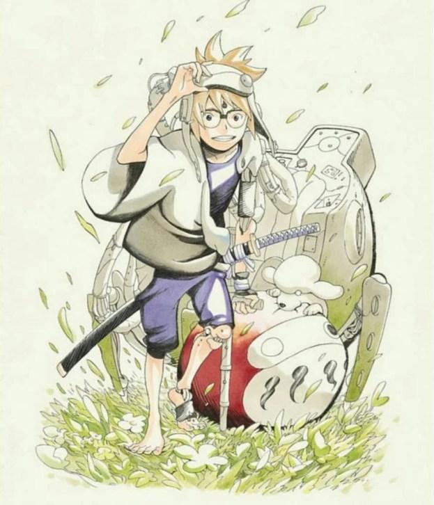 Samurai 8 | Novo mangá de Kishimoto estreia em maio na Shonen Jump