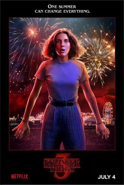 Stranger Things. 3ª temporada ganha posteres dos personagens e novo teaser