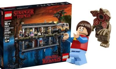 LEGO lança incrível set de blocos inspirado na série Stranger Things