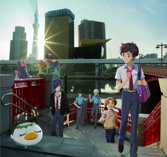 Sarazanmai   Anime traz metáfora inusitada sobre as conexões humanas