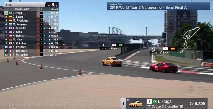 FIAGTC Nürburgring | O brasileiro Igor Fraga vence a Copa das Nações