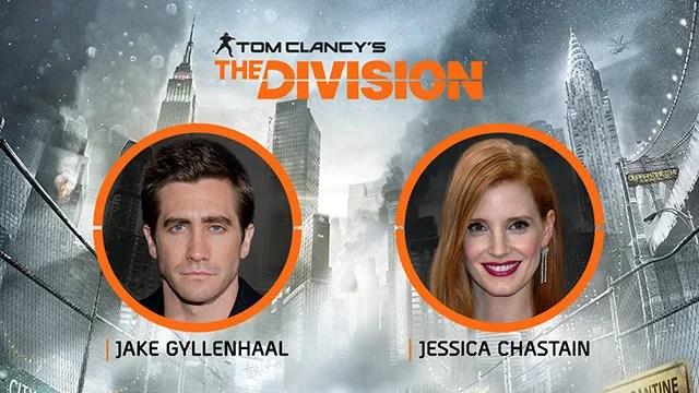 The Division: Jake Gyllenhaal e Jessica Chastain estrelarão live-action pela Netflix
