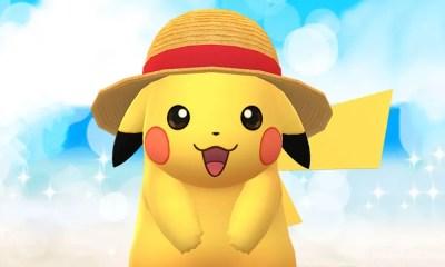 Pikachu se une a One Piece em nova campanha de Pokémon Go