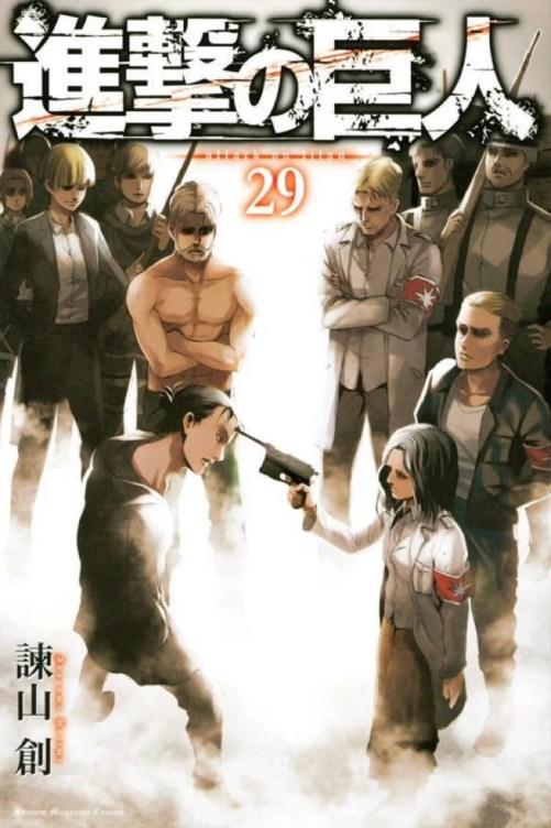 Attack on Titan | Confira o trailer do volume 29 do mangá
