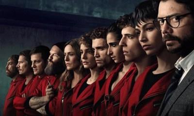 La Casa de Papel | 3ª temporada bate recorde de visualizações