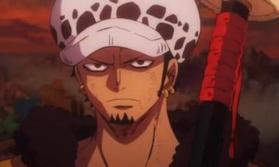One Piece STAMPEDE ganha novos teasers com Sabo, Law e Buggy
