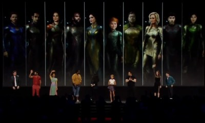 Os Eternos | Painel da Marvel na D23 traz o elenco da série