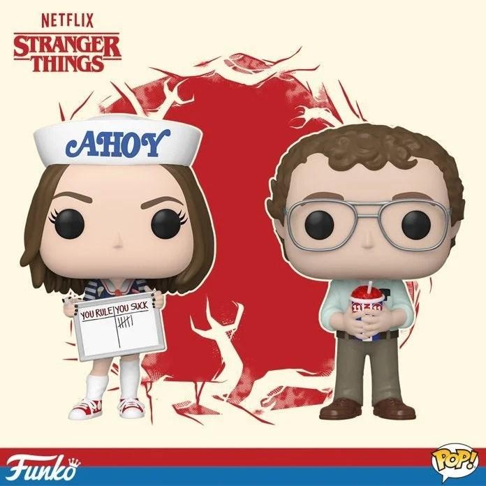 Stranger Things | Funko lança divertidas figuras POP! de Alexei e Robin