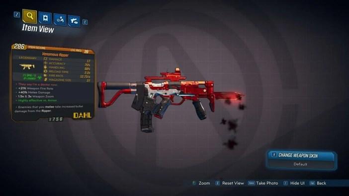 Borderlands 3 possui rifles sedentos por sangue