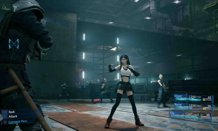 Remake trará um sistema de combate que lembra o RPG clássico