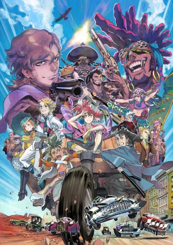 Appare-Ranman! | Anime original da Kadokawa e P.A. Works ganha trailer