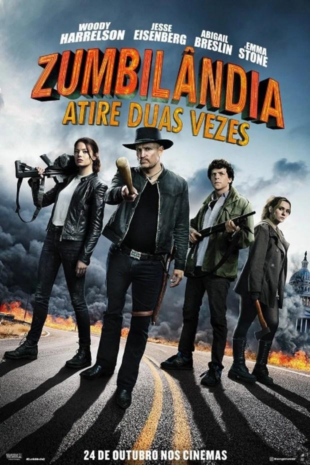 Zumbilândia: Atire Duas Vezes   Pré-estreia exclusiva acontecerá na Horror Expo 2019