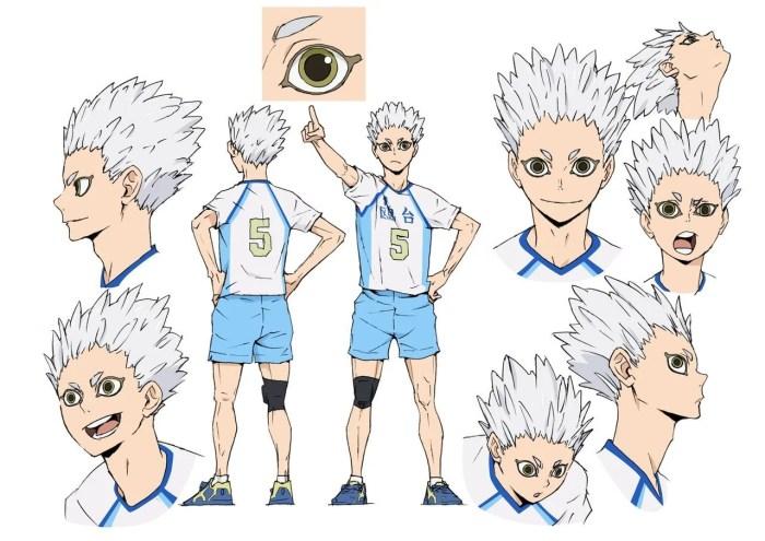 Haikyu!!   Confira o visual dos novos personagens Hoshiumi e Atsumu