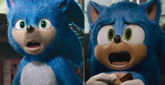 Sonic: O Filme | Novo trailer revela o visual remodelado do personagem