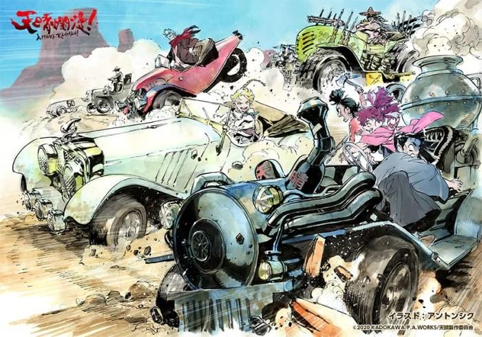 Appare-Ranman! | Novas ilustrações promocionais são reveladas