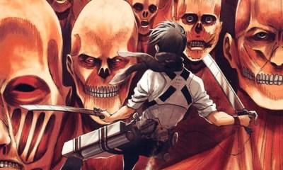 Attack on Titan | Capa do volume 31 do mangá é revelada