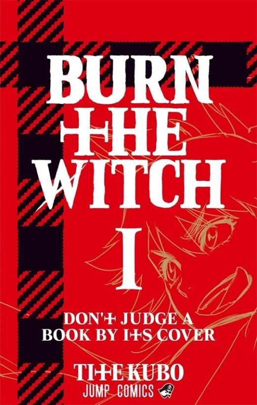 Burn The Witch | Revelada arte da capa do volume 1 do mangá