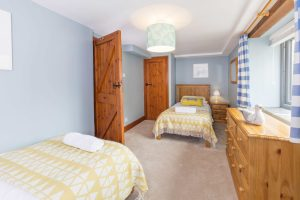 Twin Room at Tredethick
