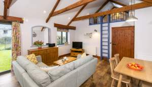 Scantlebury Cottage Living Area
