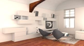 3D Renders - TREDI Interiors - E.AVAGNINA designer 1