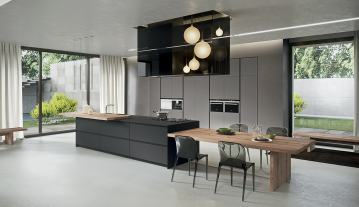 Ultimate and Modern Italian Design kitchen cabinets AKA04 4 by Arrital