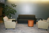 Soft seating across from OSA and Diversity Services.
