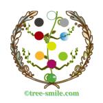 生命の樹ロゴ tree-smile.com 笑顔の樹 生命の樹