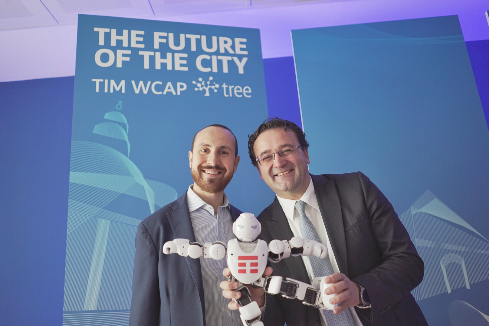 "tree e TIM lanciano ""The Future of the City"""