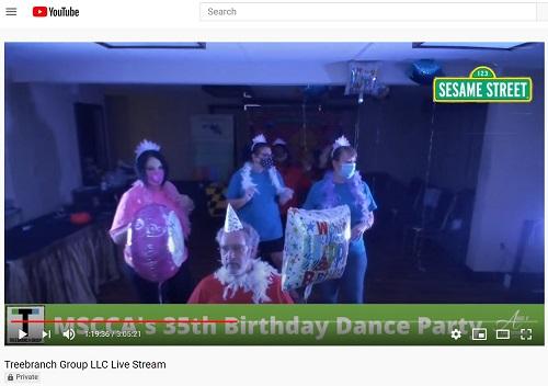 Maryland State Child Association Birthday Bash